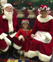 Mr. and Mrs. Claus Pay a Visit to VES!