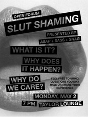 Open Forum: Slut Shaming