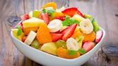 Frutas jugosas y sabrosas
