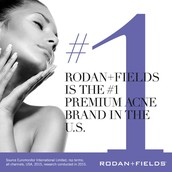 Rodan + Fields is the #1 premium acne brand in the U.S.