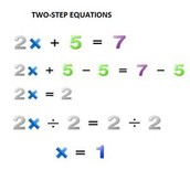 Two step Equatiouns