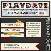 Maryland P.L.A.Y.D.A.TE. for Educators