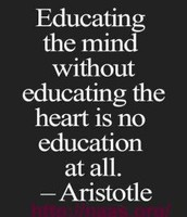 Put your heart into everything you do in school or outside of school.
