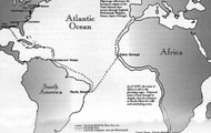 Middle passage route