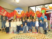 Our Class with the Chinese Dragon
