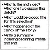 Summarizing and Main Ideas