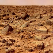 Mars land features