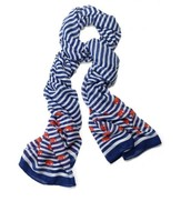 Palm Springs scarf navy NOW $29