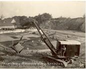 Hersey Park being built.