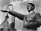 Hitler's Nazis salute