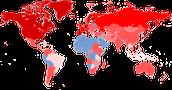 Mapa de la crisis económica actual