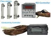 Flow meters, RO Controller and Conductivity Controller