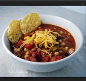 La sopa de taco