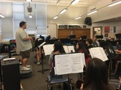 Hill Band Practices at BA