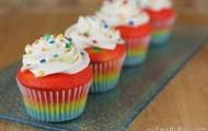 rainbow sweet  CUPCAKE
