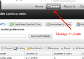 Manage Classes