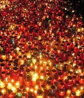 all saints day lanterns