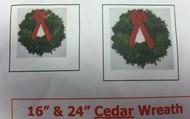Cedar Wreaths