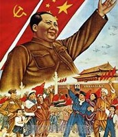 Mao's propaganda potraying his control