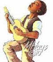 Little Boy and his ukelele