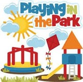 Playing in the Park on Wednesday, June 8