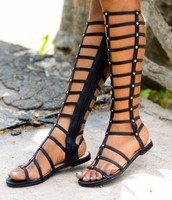 Gladiator Sandals:100 Silver Coins