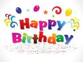 Let's Celebrate....