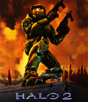 The cover of Halo 2