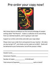 """The Phoenix"" Student Anthology"