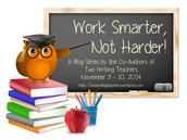 Let's work smarter, not harder!