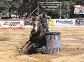 Josey Jr. World Barrel Race Champion
