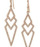 Pave Spear Earrings $24