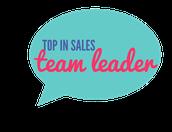 Top Sales by Rank - Team Leader