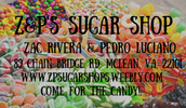 We are Z&P'S Sugar Shop!