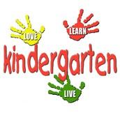 Going To Kinder-garten!