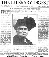 The Literary Digest: Anna Howard Shaw