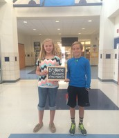 5th Grade August Students of the Month