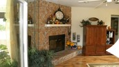 Living Room BEFORE Bella Casa Staging