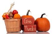 Thanksgiving Chapel Service