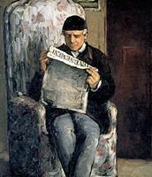 Ritratto del padre, Cézanne, 1866