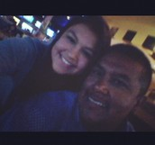 My father and I again