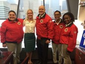 City Year Launches at Medrano MS, Partnering Near-Peer Partners with Teachers, Students