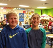 Congratulations to our class Spelling Bee Winners!