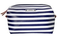 Navy Stripe Pouf - $22