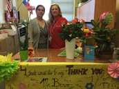Awesome Ms. Flores and Ms. Brown