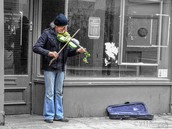 Snap: Busting a move with a street busker