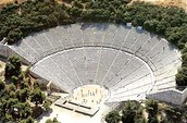 This is an ancient Greek theater