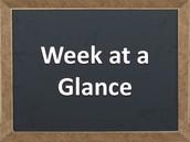 What is happening this week?