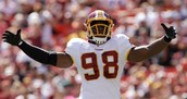 Brian Orakpo will be putting pressure on Eli Manning