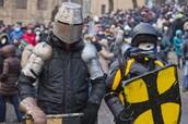 How did unrest in Ukraine begin?